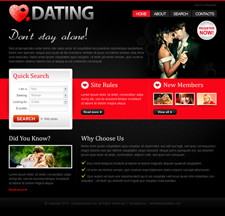 dating-website-templates